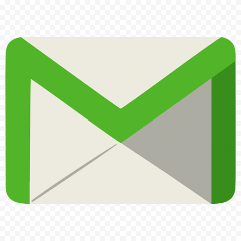 Green Gmail Clipart Logo Icon