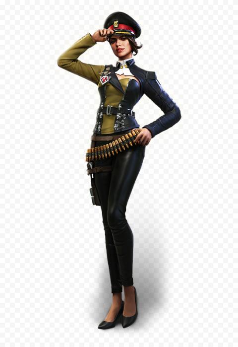 Free Fire Paloma Female Character