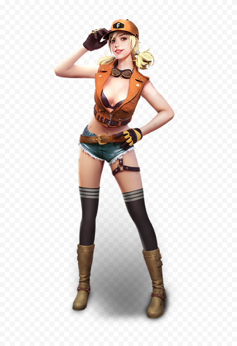 Free Fire Misha Female Character