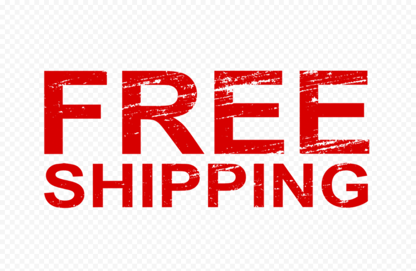 Free Shipping Word Stamp Style Effect