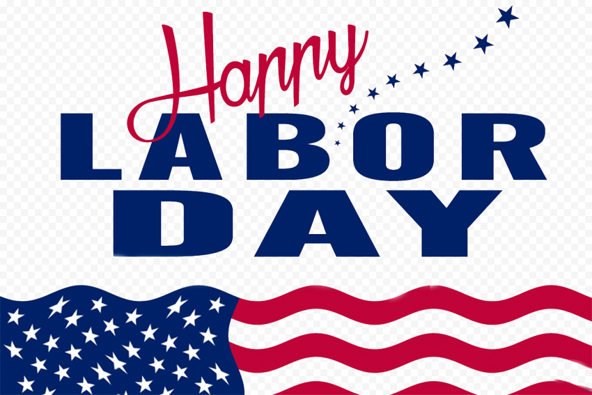 Happy Usa Labor Day Illustration