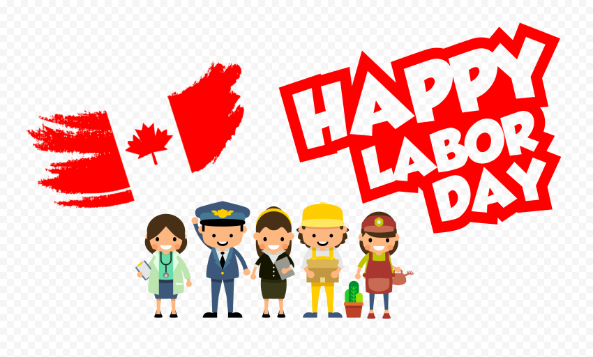 Canadian Workers Happy Labor Day