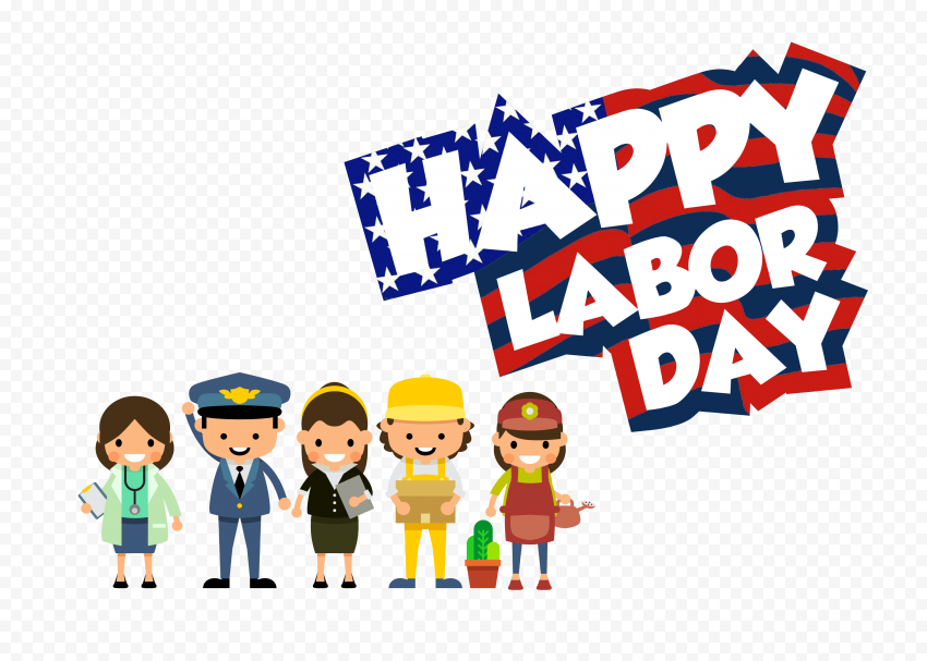 American Workers Happy Labor Day