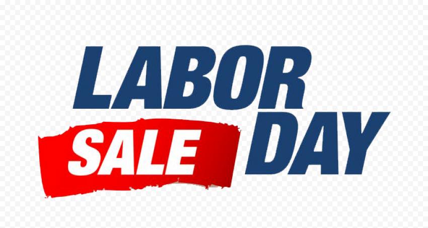 Labor Day Sale Vector Clipart