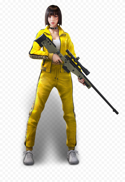 Free Fire Kelly Female Character
