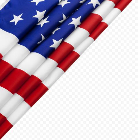 Corner American America United States USA Flag