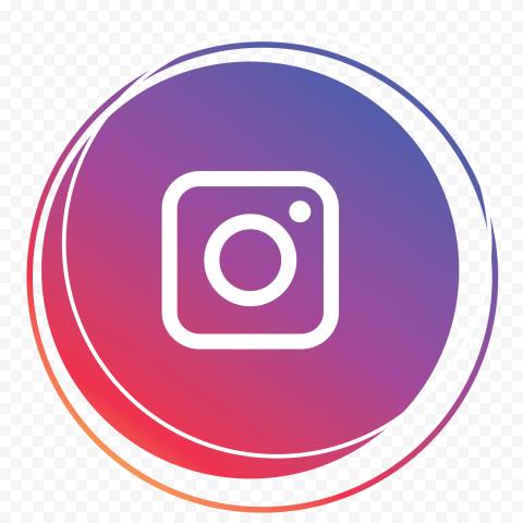 Instagram Round Multi Circle Icon
