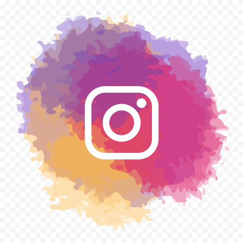 Instagram Watercolor Style Effect Icon