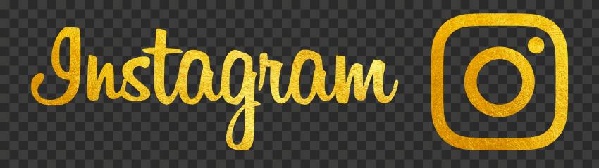 HD Gold Golden Instagram Logo