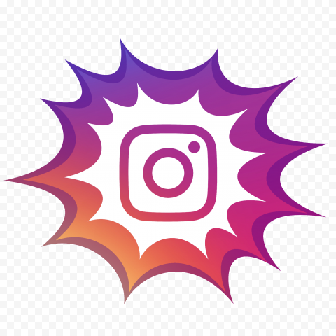 Comic Style Instagram Logo Icon Citypng