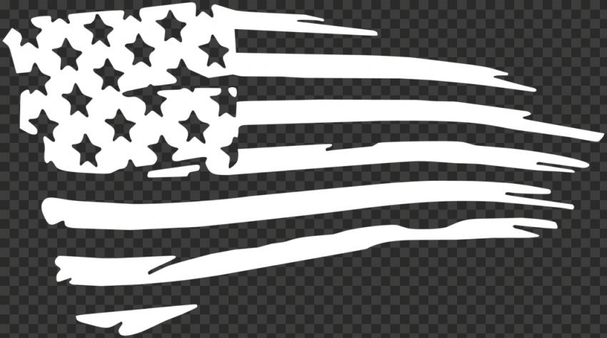 White American USA United States Clipart Flag