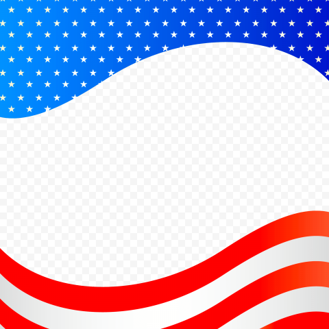 HD United States US Flag Background Illustration