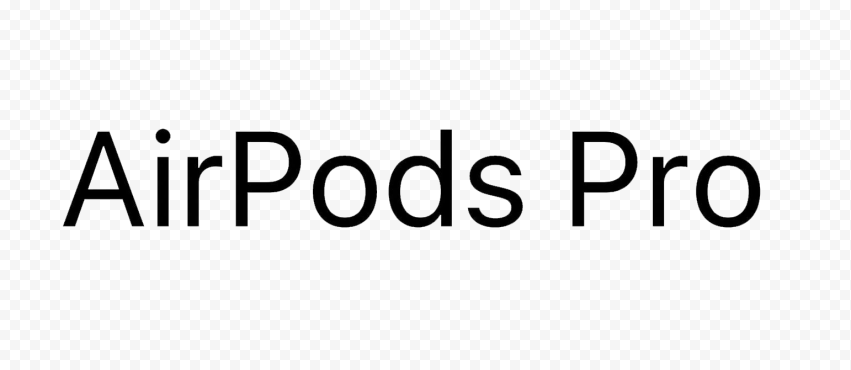 Apple Airpods Pro Logo