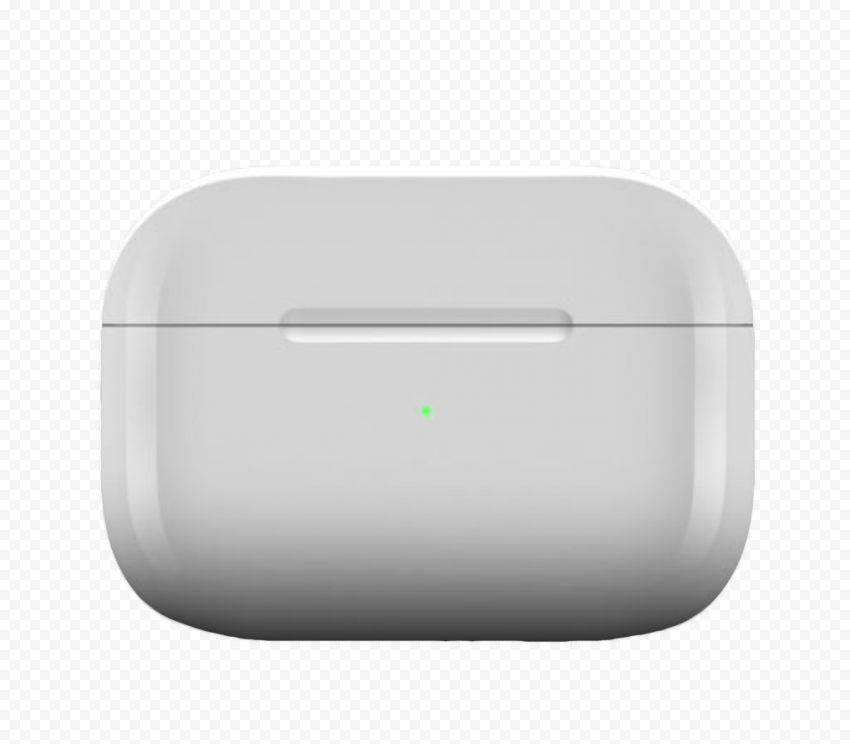 Closed Apple Airpods Pro Case Front View