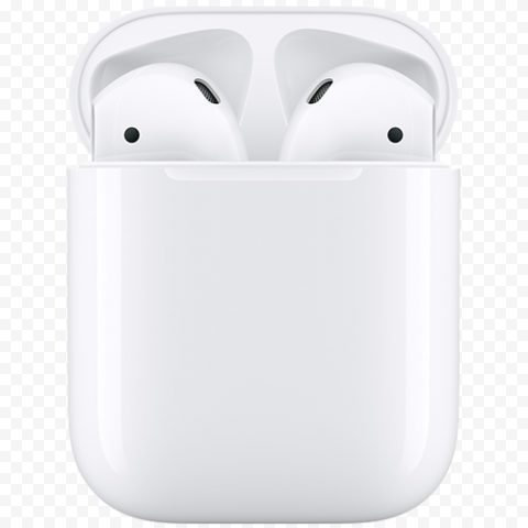 Opened Case Apple Airpods Headset Wireless Bluetooth
