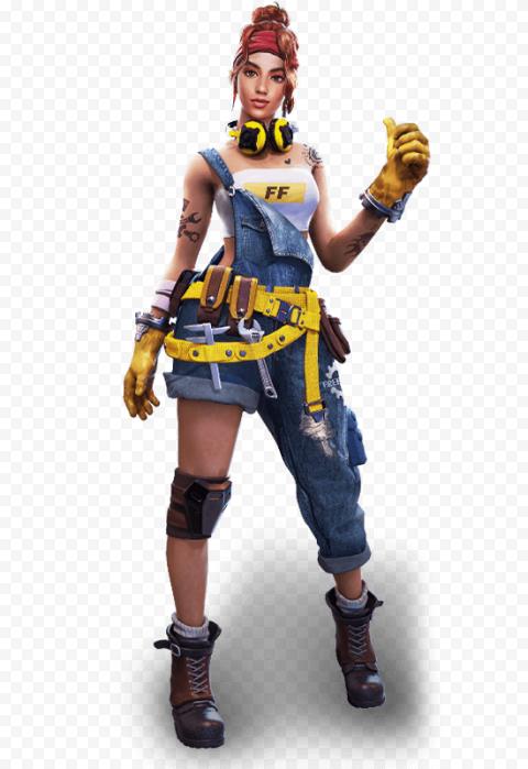 Free Fire Shani Female Character