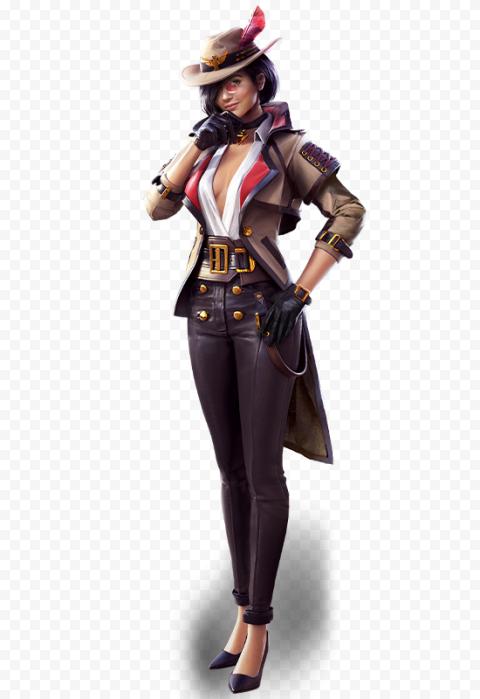 Free Fire FF Clu Female Character