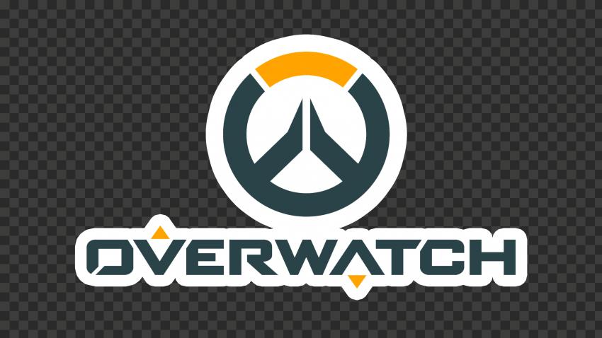 Overwatch Logo Stickers Style