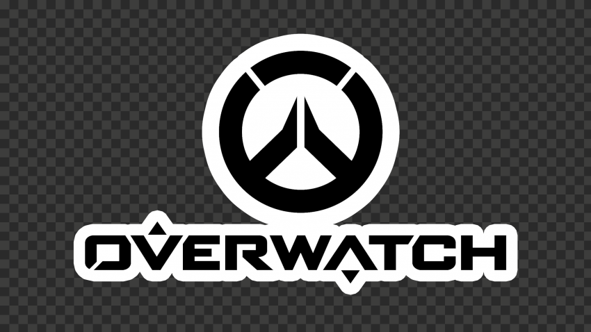 Black Overwatch Logo Stickers Style