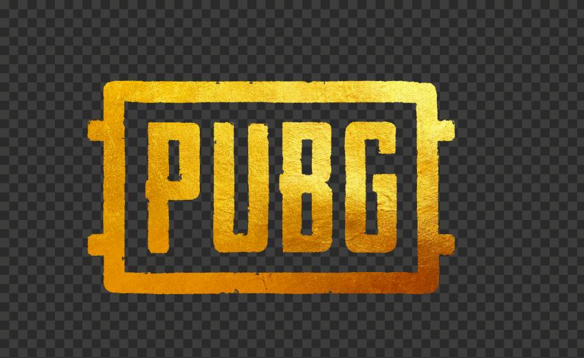 HD PUBG Golden Gold Logo