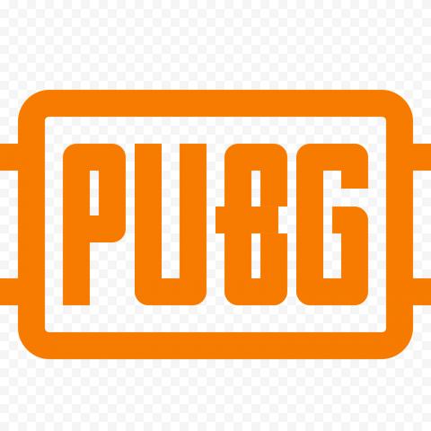 Orange PUBG Logo