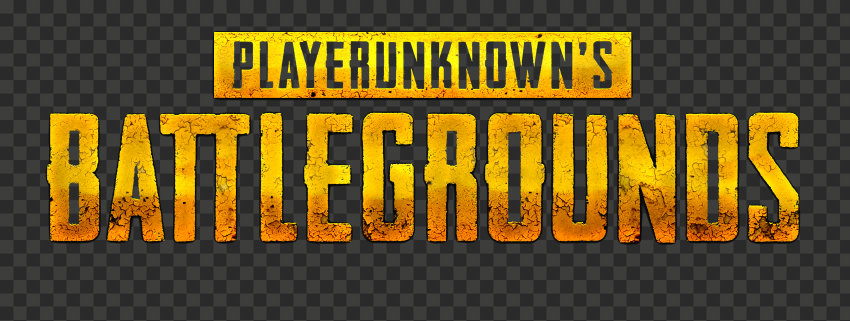 HD Player Unknown Battlegrounds Gold Logo