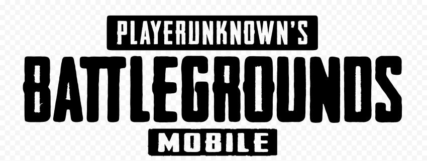 HD Player Unknown Battlegrounds Black Mobile Logo