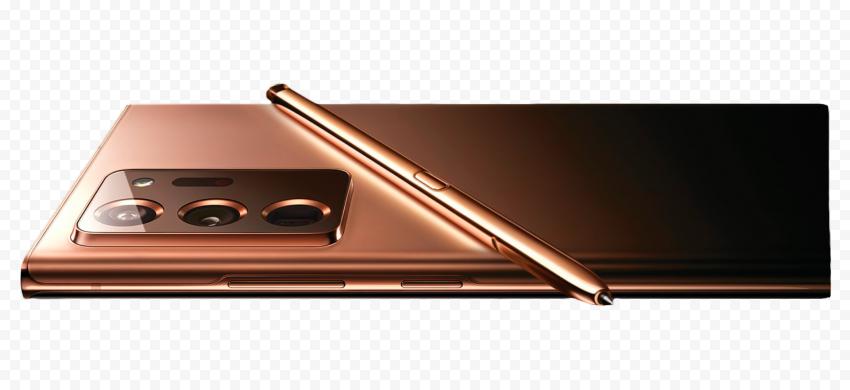 Samsung Gold Galaxy Z Fold 2 With Pen