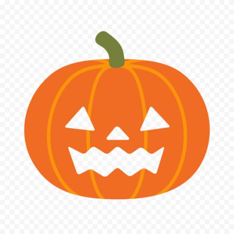 Halloween Face Of Jack O Lantern Pumpkin Emoji
