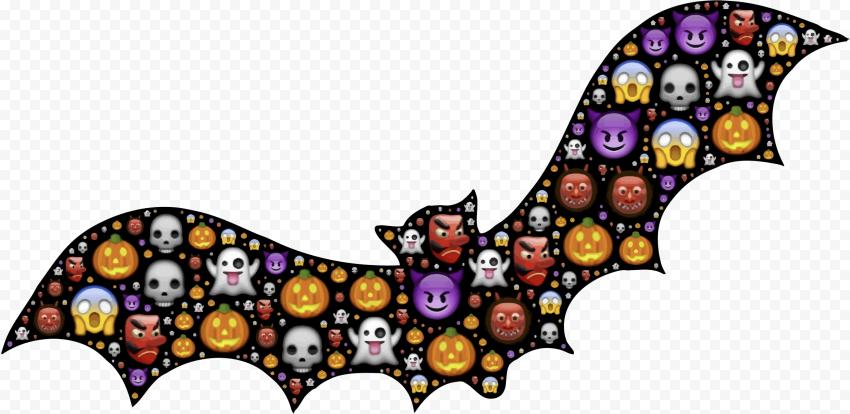 Bat Wings Emojis Halloween