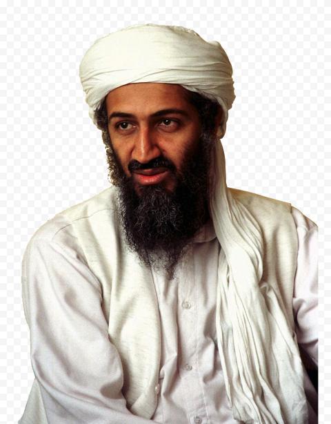 Osama Bin Laden Portrait Picture
