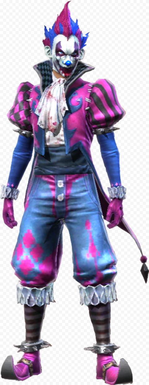 Free Fire Joker Man Character