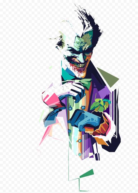 Joker Heath Ledger Illustration Artwork