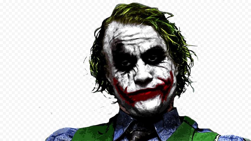 Joker Heath Ledger Painting Artwork
