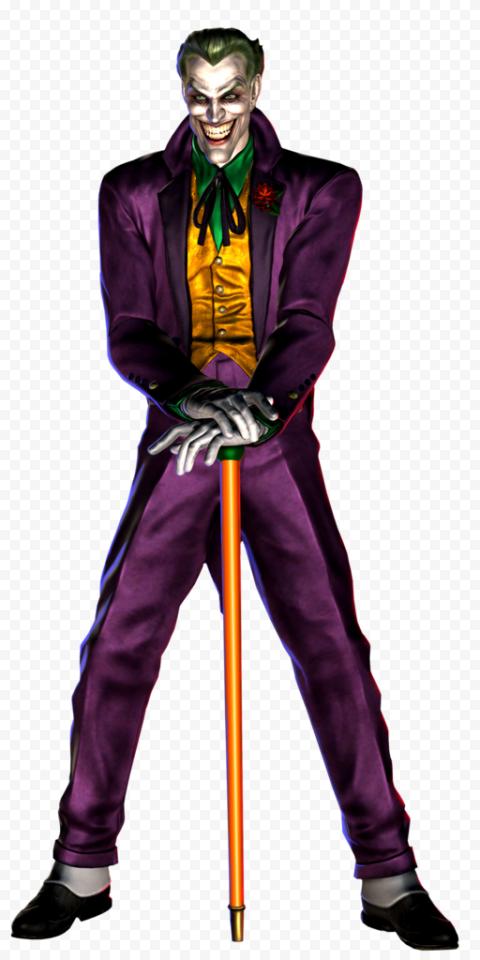 Cartoon Standing Joker Illustration Design