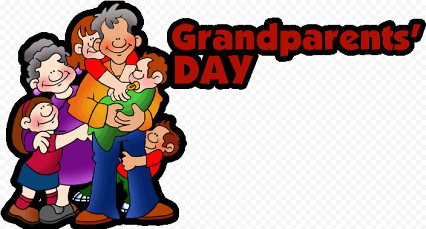 Cartoon National Grandparents Day
