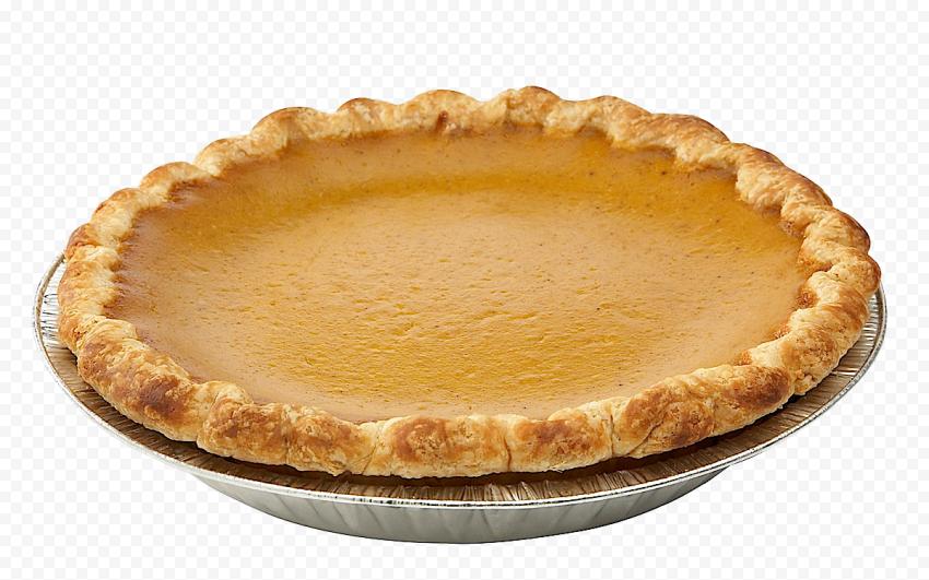 Real Round Pumpkin Pie Tart