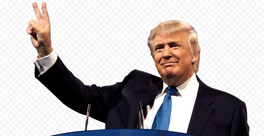Donald Trump President Hand Peace Sign