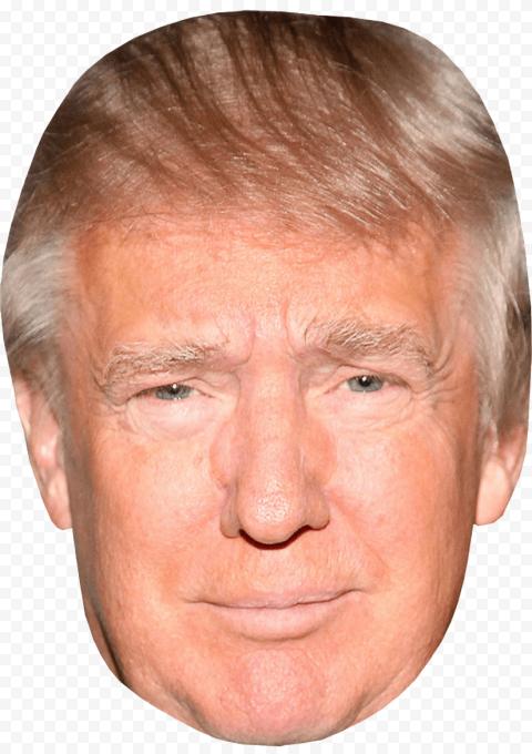 Donald Trump President Head