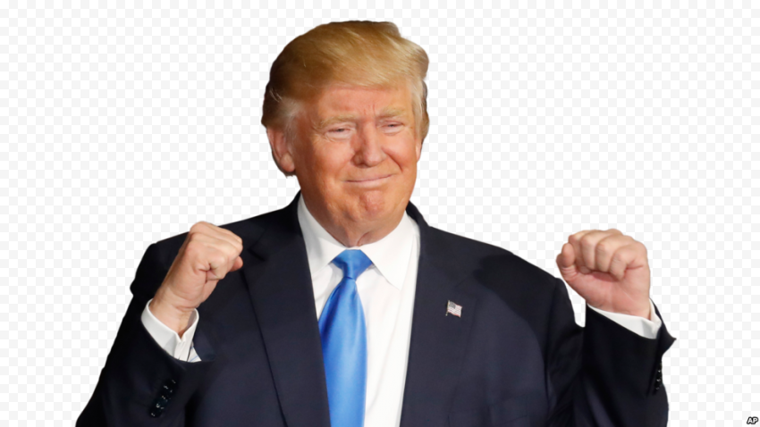 Donald Trump President Victory Hand Sign
