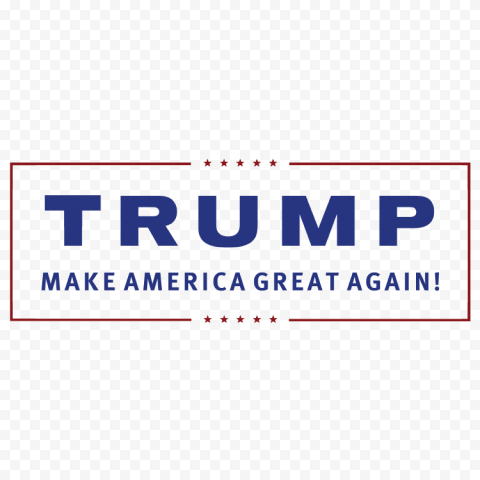 Trump Election Make America Great Again Logo