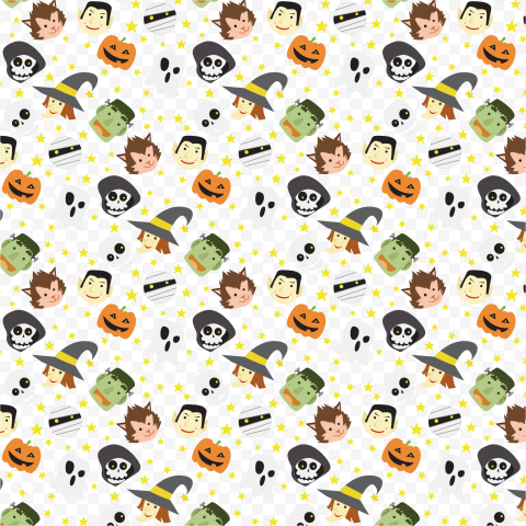 High Quality Halloween Pattern Background