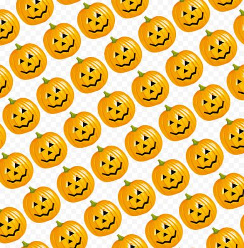 Pumpkin Pattern Background Halloween