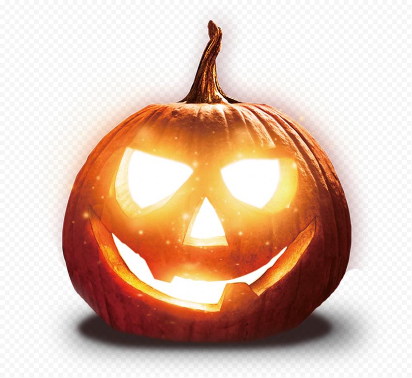 Realistic Halloween Jack O Lantern Scary Face