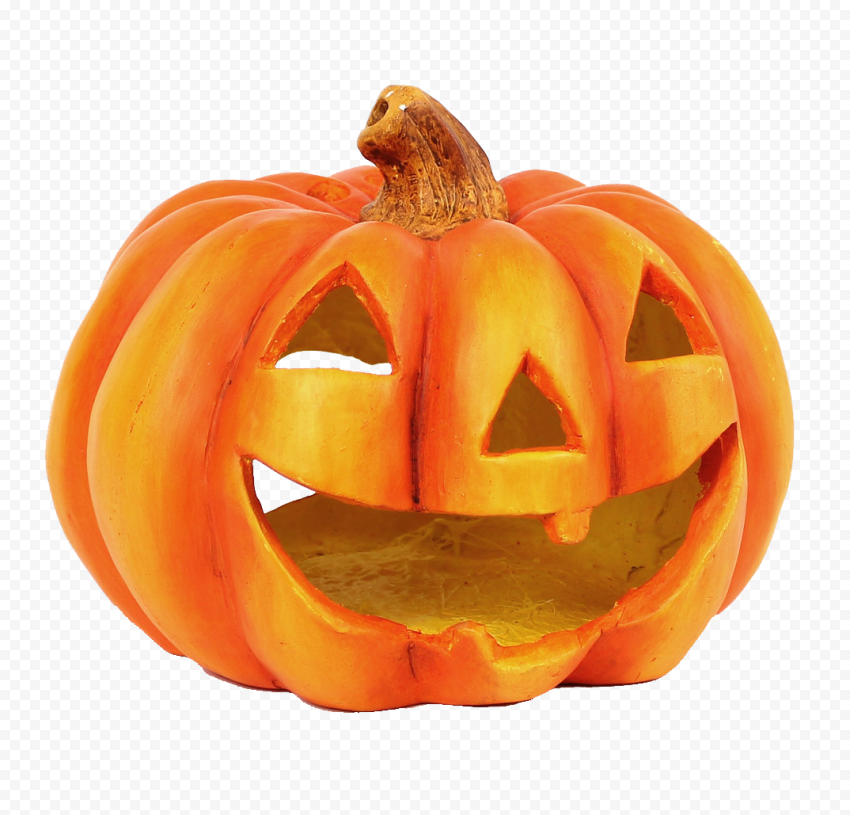 Halloween Real Carved Jack O Lantern Pumpkin Face