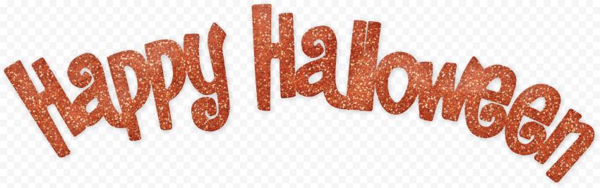 High Resolution Happy Halloween Text Font