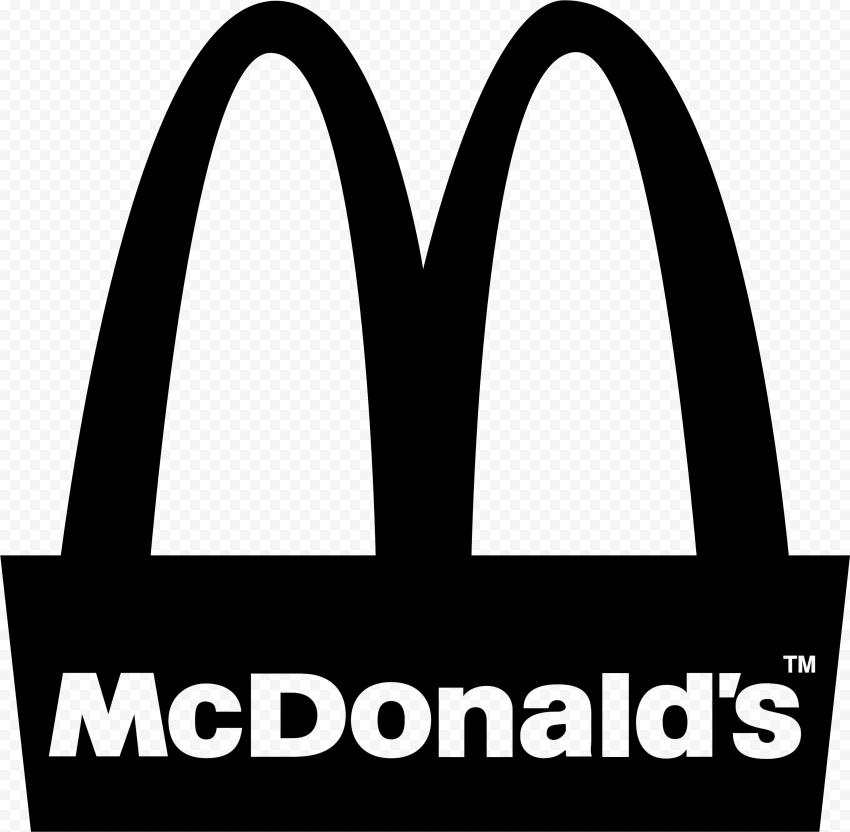McDonalds M Symbol Black Logo High Resolution