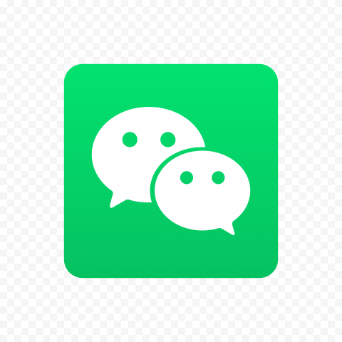 Vector WeChat China App Logo Icon High Resolution