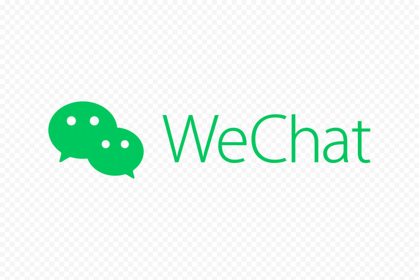 Green WeChat China Chat App Logo