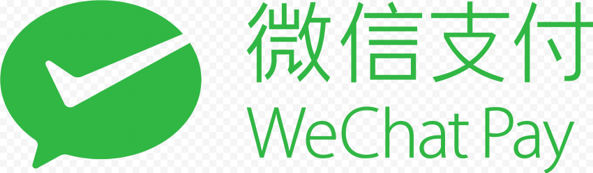 WeChat Pay China Text Logo Icon